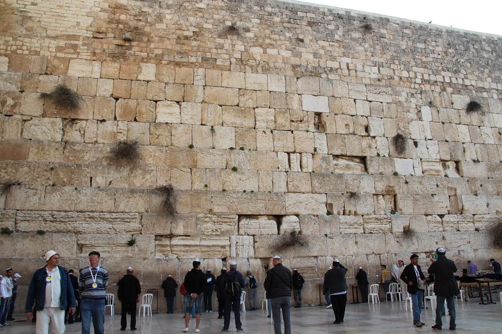 Из Шарм-эль-Шейха в Израиль, Иерусалим, Стена плача