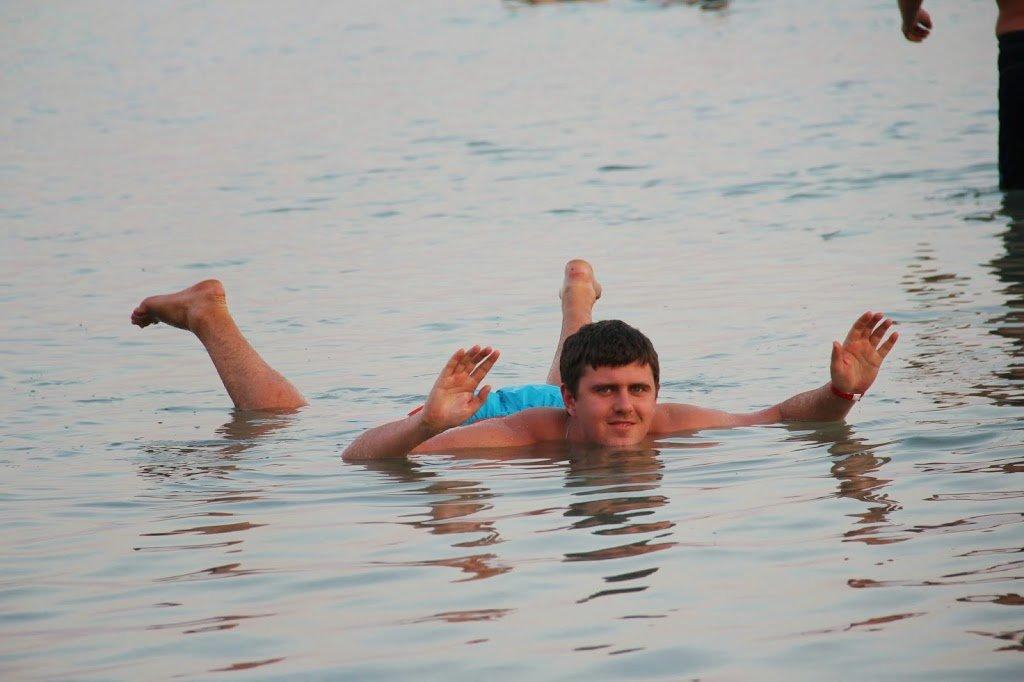 Из Шарм-эль-Шейха в Израиль, Эйлат, Мертвое Море