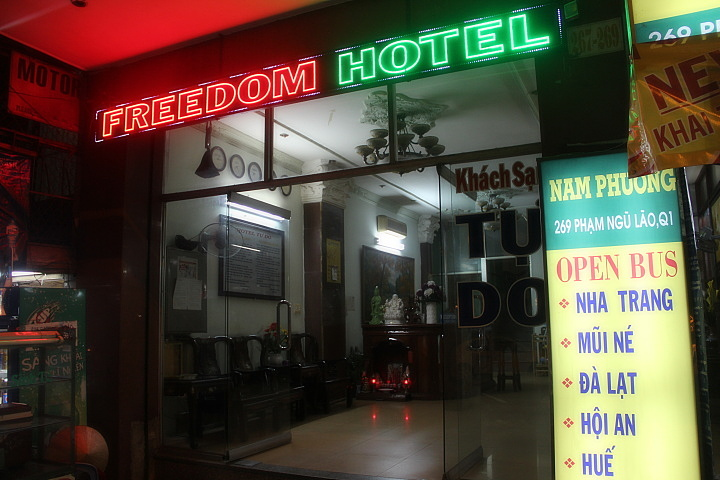 Freedom Hotel, Хошимин
