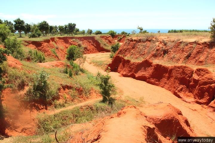Красный Каньон, достопримечательности Муйне, Вьетнам
