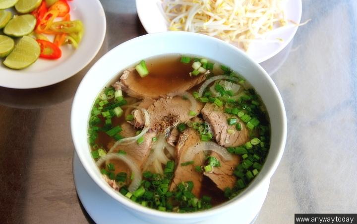 Как готовят Вьетнамский суп Фо