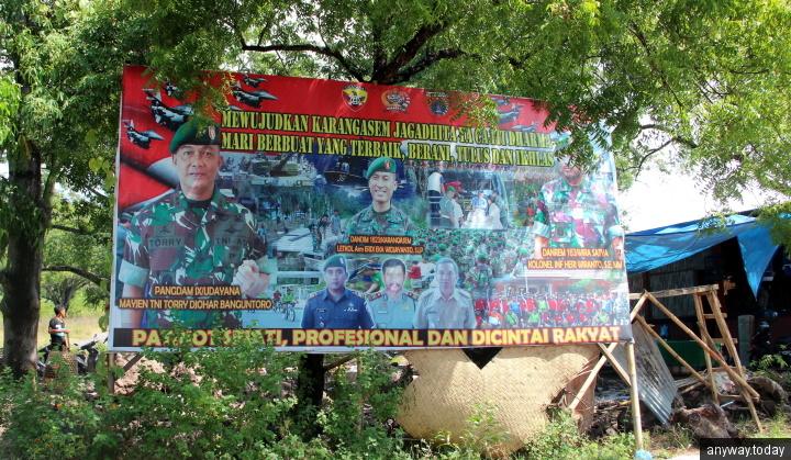 Плакат в Туламбене