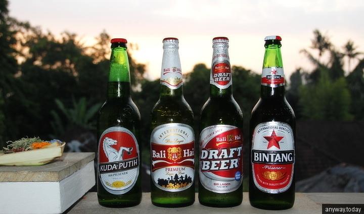 Пиво на Бали