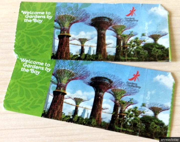Билеты в Сингапурские сады