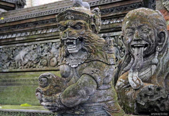 Лес обезьян, Убуд, Бали