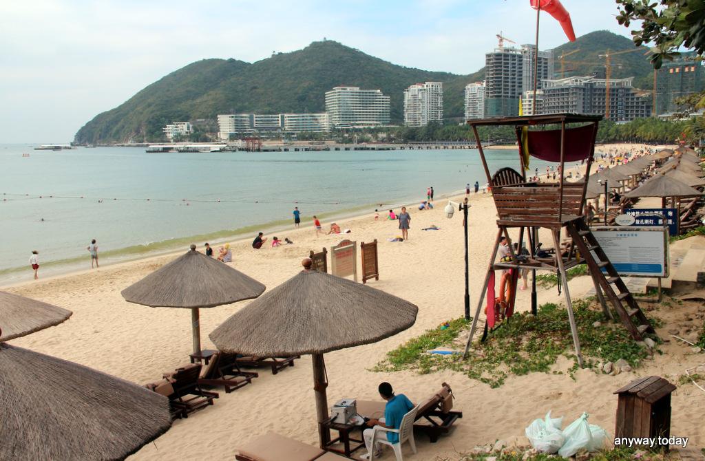 Пляж Дадунхай, Хайнань