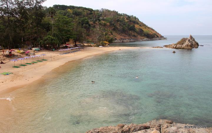 Пляж Януй (Ya Nui Beach)
