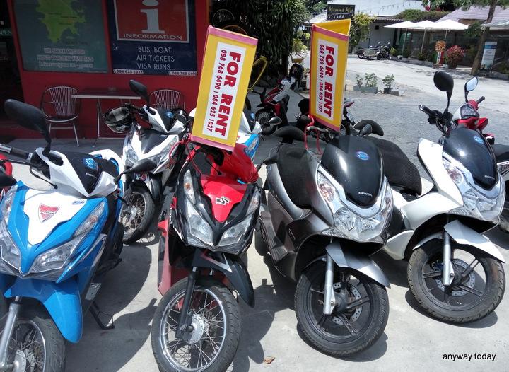 Аренда байка на Пхукете (Rent motorbike on Phuket)