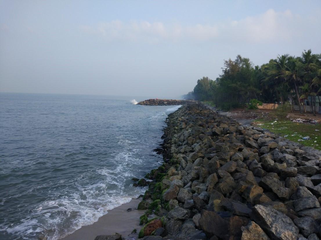 Укрепление береговой линии - Индия